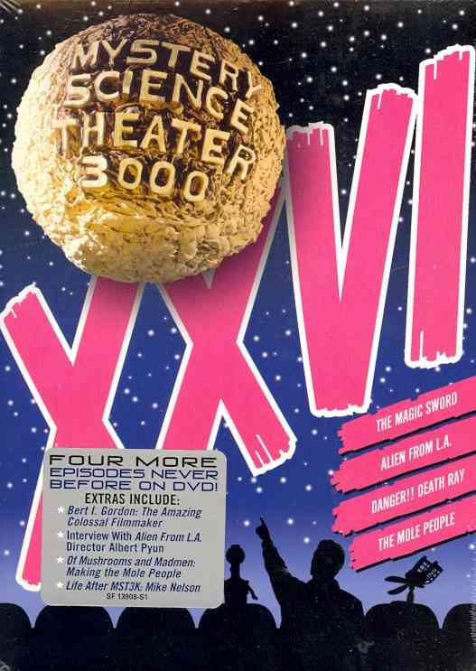 MYSTERY SCIENCE THEATER 3000 VOL XXVI BY MYSTERY SCIENCE THEA (DVD)