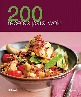 200 recetas para wok / 200 Wok Recipes By Filippelli, Marina